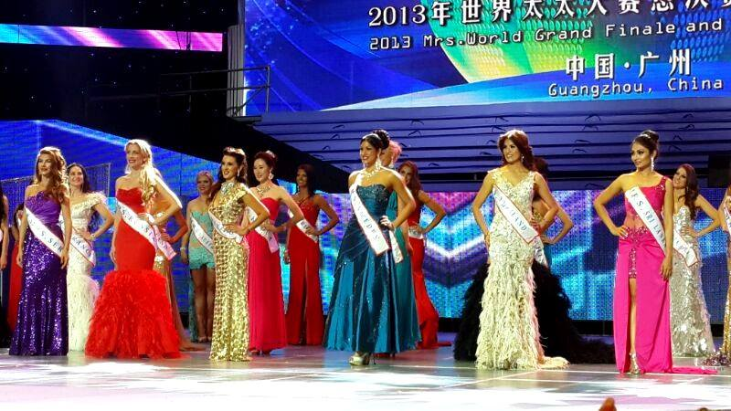 Harmit kom Top10 i MRS WORLD 2013 i Kina